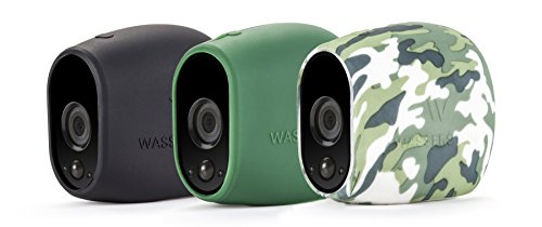 3 x Silicone Skins for Arlo Smart Security - 100% Wire-Free Cameras by Wasserstein (Arlo HD