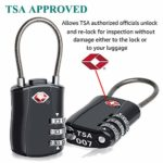 3-Dial Combination Padlock for Luggage