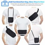 Waterproof Waist Bum Bag for Phone Up to 6.6''