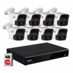 Tonton 8CH 4K 8MP PoE NVR Home sk© Security SAVER SALE Camera System with 2TB HDD