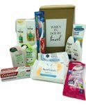 Ready to Go for Women! The Ultimate Mini Toiletries Travel Set TSA Approved! All Your Liquids Pre packed For Airport sk© Security SAVER SALE Checks. Perfect Essentials For Your Carry-on Cabin Weekend Bag. Gift Idea