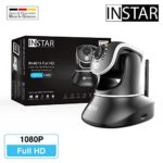 INSTAR IN-8015 Full HD (Wi-Fi) black - security camera - IP camera - CCTV - home security system - alarm - night vision - motion detection - indoor - webcam - wide angle - LAN - Wi-Fi - PTZ - ONVIF