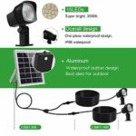 150Lumens Warm White Solar sk© Security SAVER SALE Lights IP66 Waterproof Solar Landscape Lights with Auto on at Night