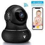 Littlelf Wifi Camera - Home Security Camera Baby Monitor Panoramic Surveillance Newest